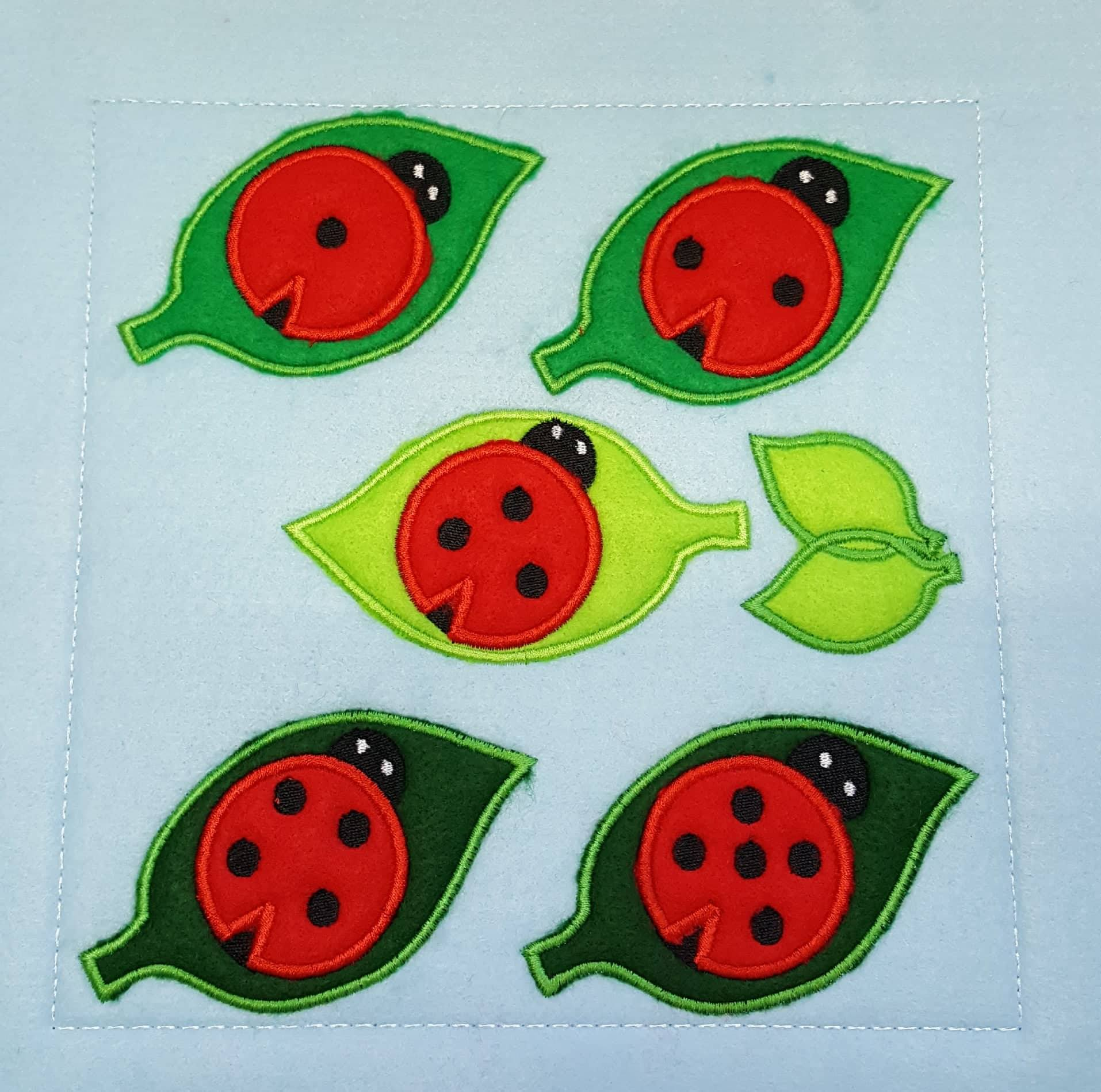 Ladybird Page 8x8 - including SVG files