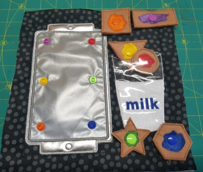 Milk & Cookies colour matching - 8x8 ITHWL