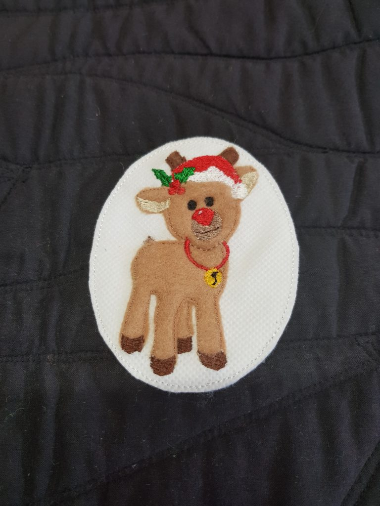 Christmas feltie - Reindeer 4x4 - ITHWL