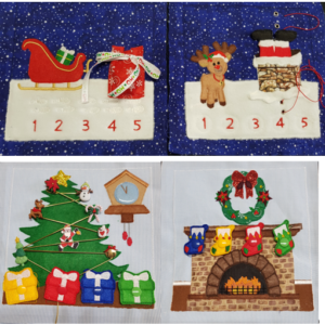 Christmas page set of 4 - ITHWL