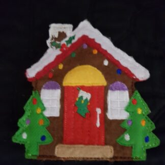 Gingerbread house 4x4 - ITHWL