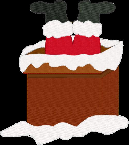 Santa in the chimney - ITHWL