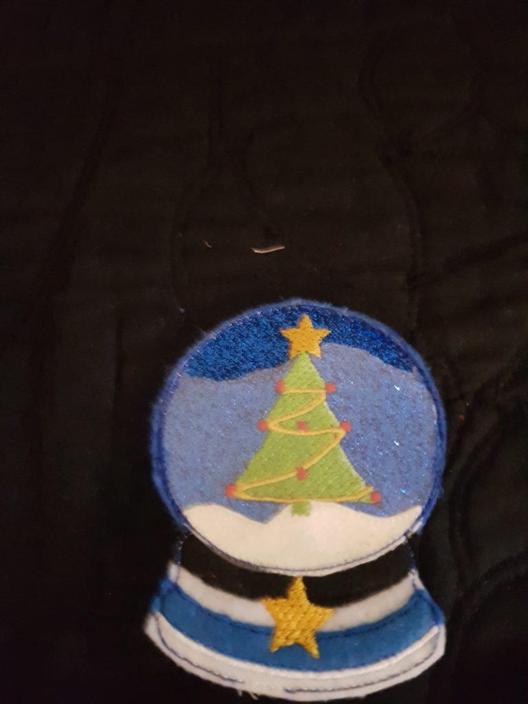 Christmas Snowglobe 4x4 - ITHWL