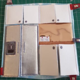 Kitchen 8x8 quiet book pages - ITHWL