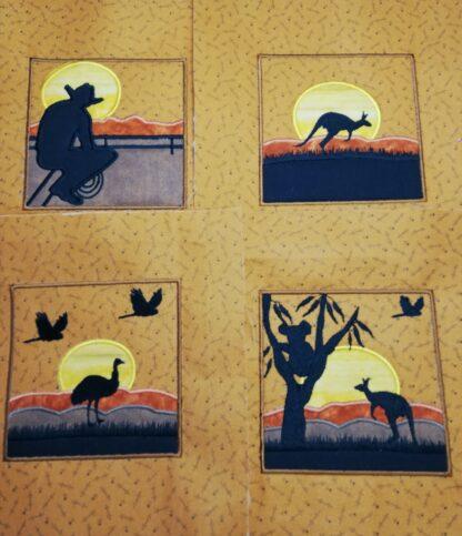 Aussie silhouettes - ITHWL