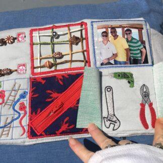 7x12 Fidget quilt men's - ITHWL