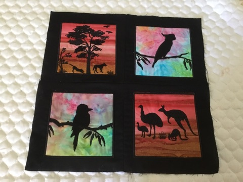 Aussie silhouettes 2 - ITHWL
