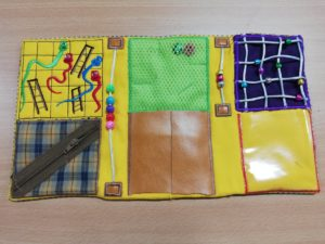8X14 Fidget quilt - ITHWL