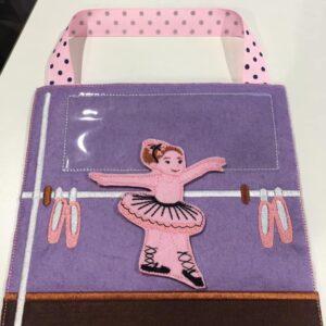 Ballet busy bag 8x8 - ITHWL