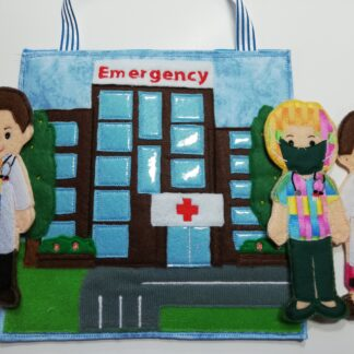 Hospital busy bag 8x8 - ITHWL