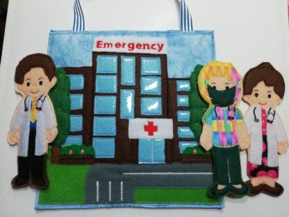 Hospital busy bag 8x8 - ITHWL