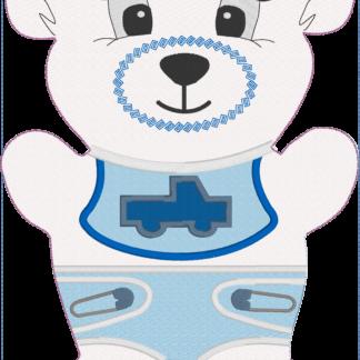 Fosta bear nappy ND 6x10 - ITHWL