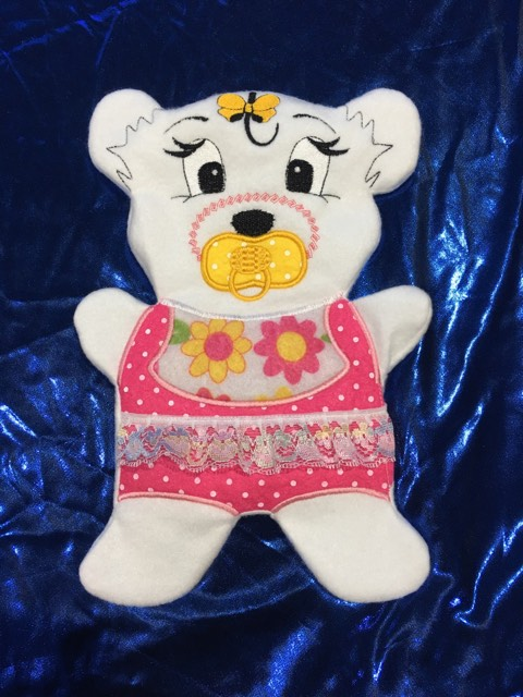 Fosta bear girl pj's 8x12 - ITHWL