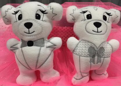 Fosta bride and tux bears - ITHWL