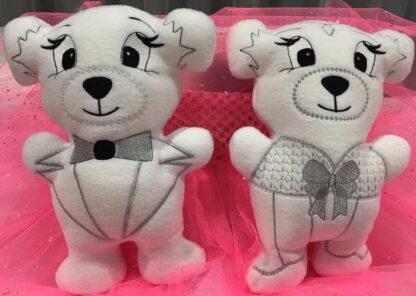 Fosta bride and tux bears - ITHWL