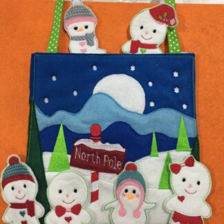 North Pole busy bag - ITHWL