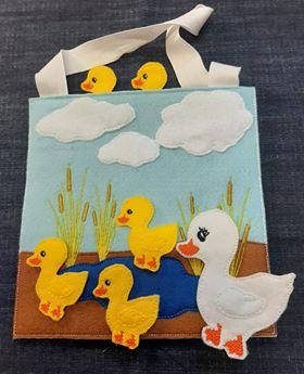 5 Little ducks busy bag - ITHWL