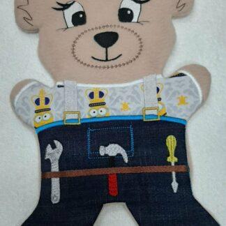 Fosta bear overalls - ITHWL