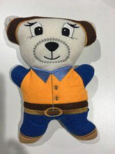 Fosta bear Aussie Farmer - ITHWL