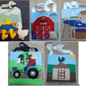Farm busy bag set of 5 - ITHWL