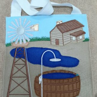 Windmill busy bag 8x8 - ITHWL