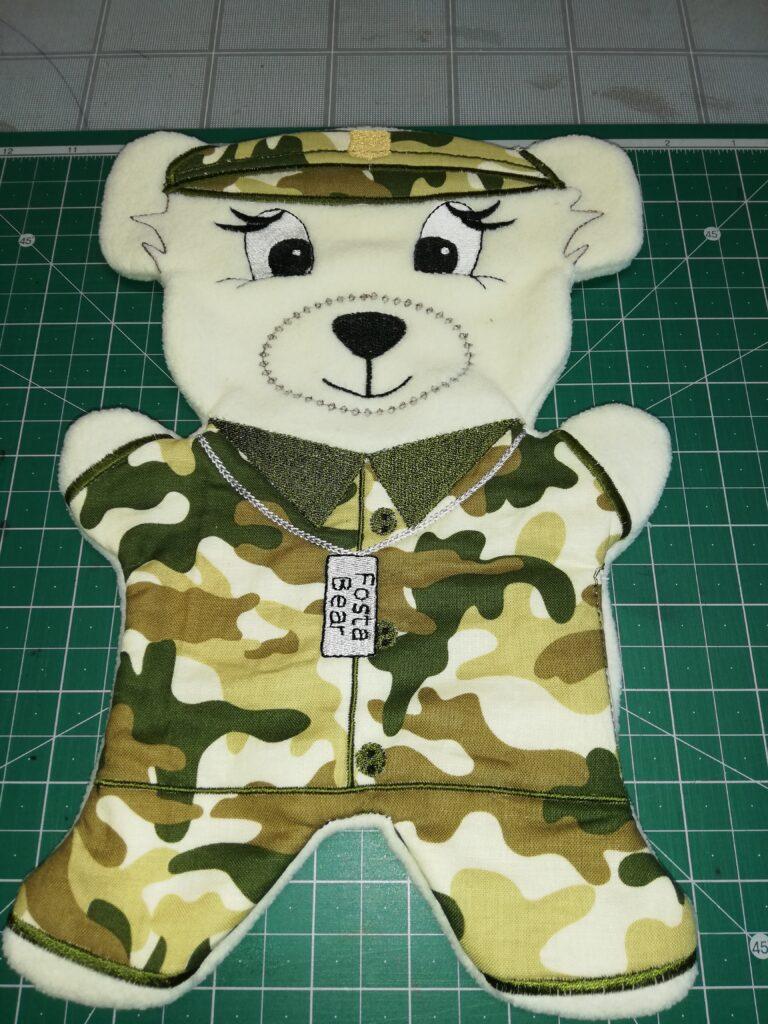 Fosta army bear - ITHWL
