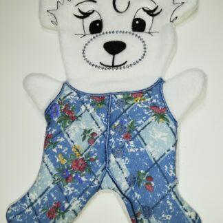 Fosta bear jumpsuit - ITHWL