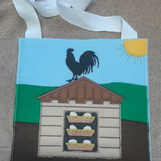 Rooster busy bag - ITHWL