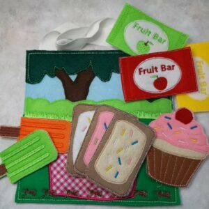 Teddy bears picnic busy bag - ITHWL