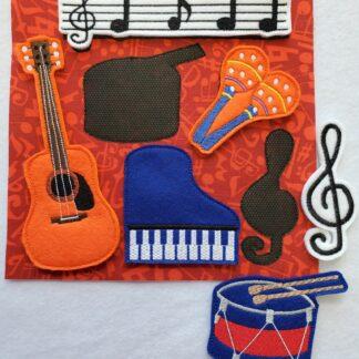 Music busy bag - ITHWL