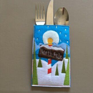 Cutlery holder North pole - ITHWL