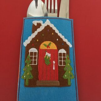 Cutlery holder gingerbread - ITHWL