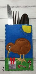 Cutlery holder kiwi - ITHWL