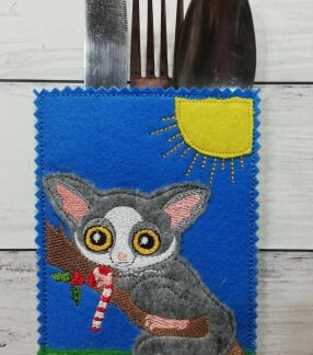 Cutlery holder possum - ITHWL