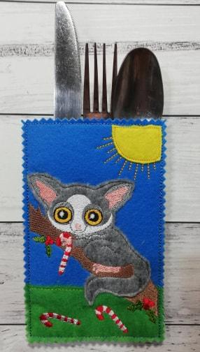 Cutlery holder possum - ITHWL