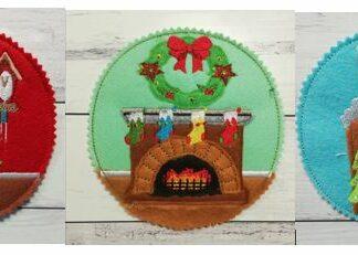 Christmas coasters - ITHWL