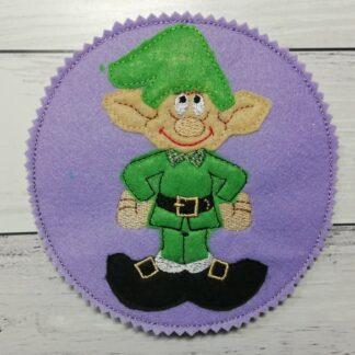 Coaster Christmas Elf 5x7 - ITHWL