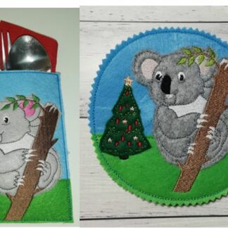 Koala coaster & cutlery holder - ITHWL