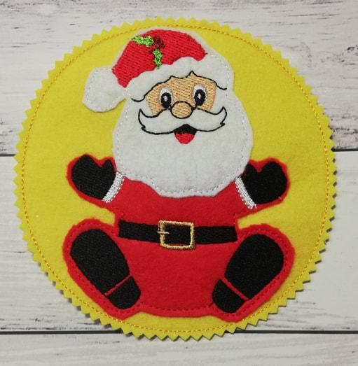 Santa coaster - ITHWL