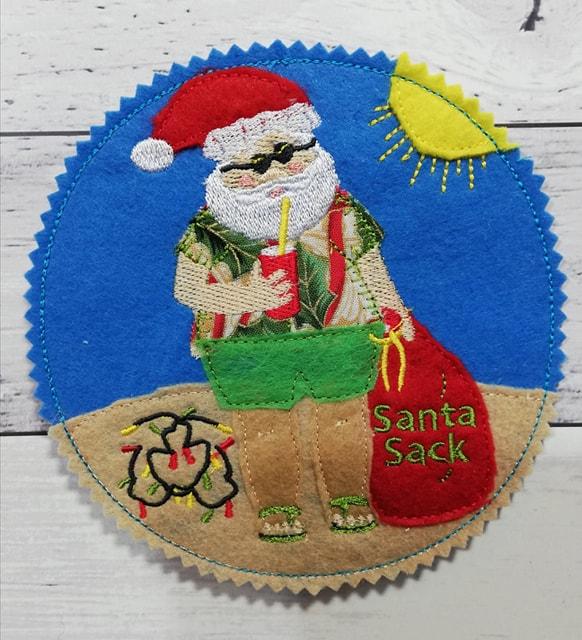 Coaster Summer Santa - ITHWL