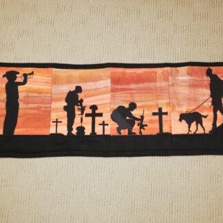 Aussie Soldier Table runner - ITHWL