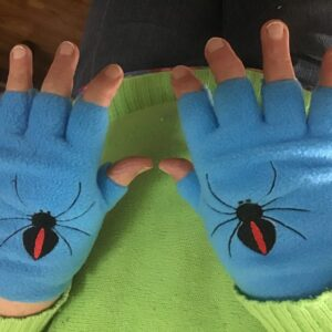 Fingerless gloves spider - ITHWL