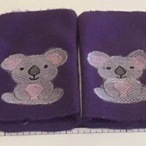 Koala fingerless mittens - ITHWL