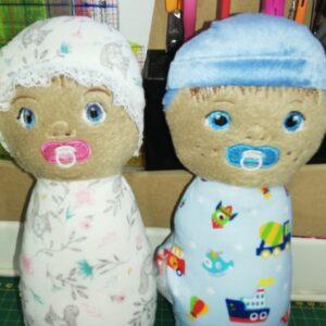 Baby doll Joyce and Oscar set - ITHWL