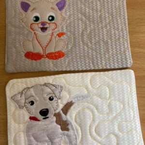 Dog & Cat cup coaster - ITHWL