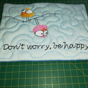 Don't worry cup coaster - ITHWL