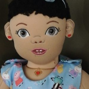 Charlie toddler doll 6x10 - ITHWL
