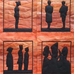 Aussie Soldiers silhouette 2021 - ITHWL