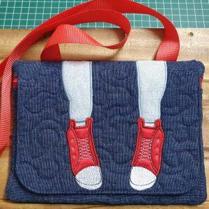 Legs zipper flap bag 7.x511 - ITHWL