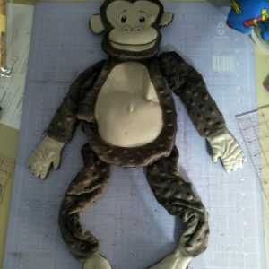 Chimpanzee stuffie - ITHWWL